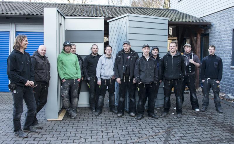 Schulung Blechbearbeitung in Gevelsberg mit Norbert Terhart