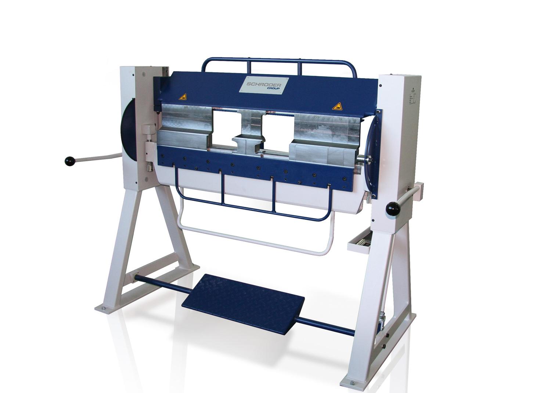 Schröder Segmentabkantmaschine ASK II beim Scherwat Fachmarkt in Gevelsberg