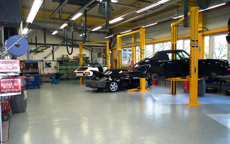 Werkstatt mit Enke Boden: HiLite floors