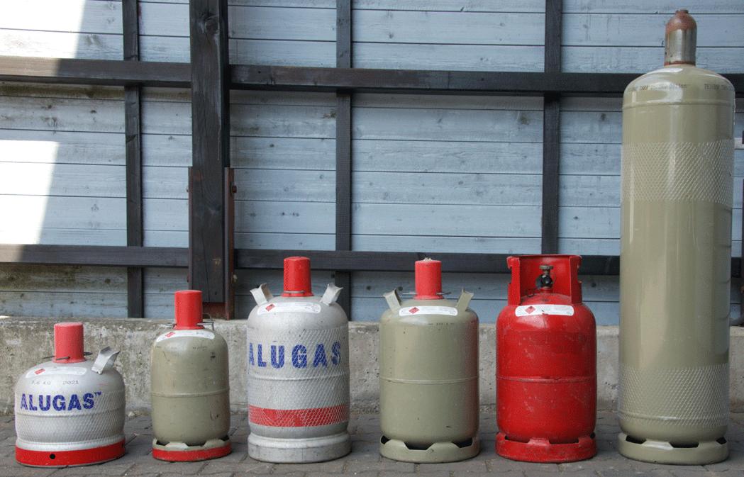Gasflaschen (Propangas- Treibgasflaschen) in Gevelsberg kaufen