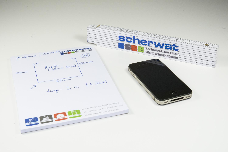Blechbearbeitung: Bleche per Smartphone bestellen