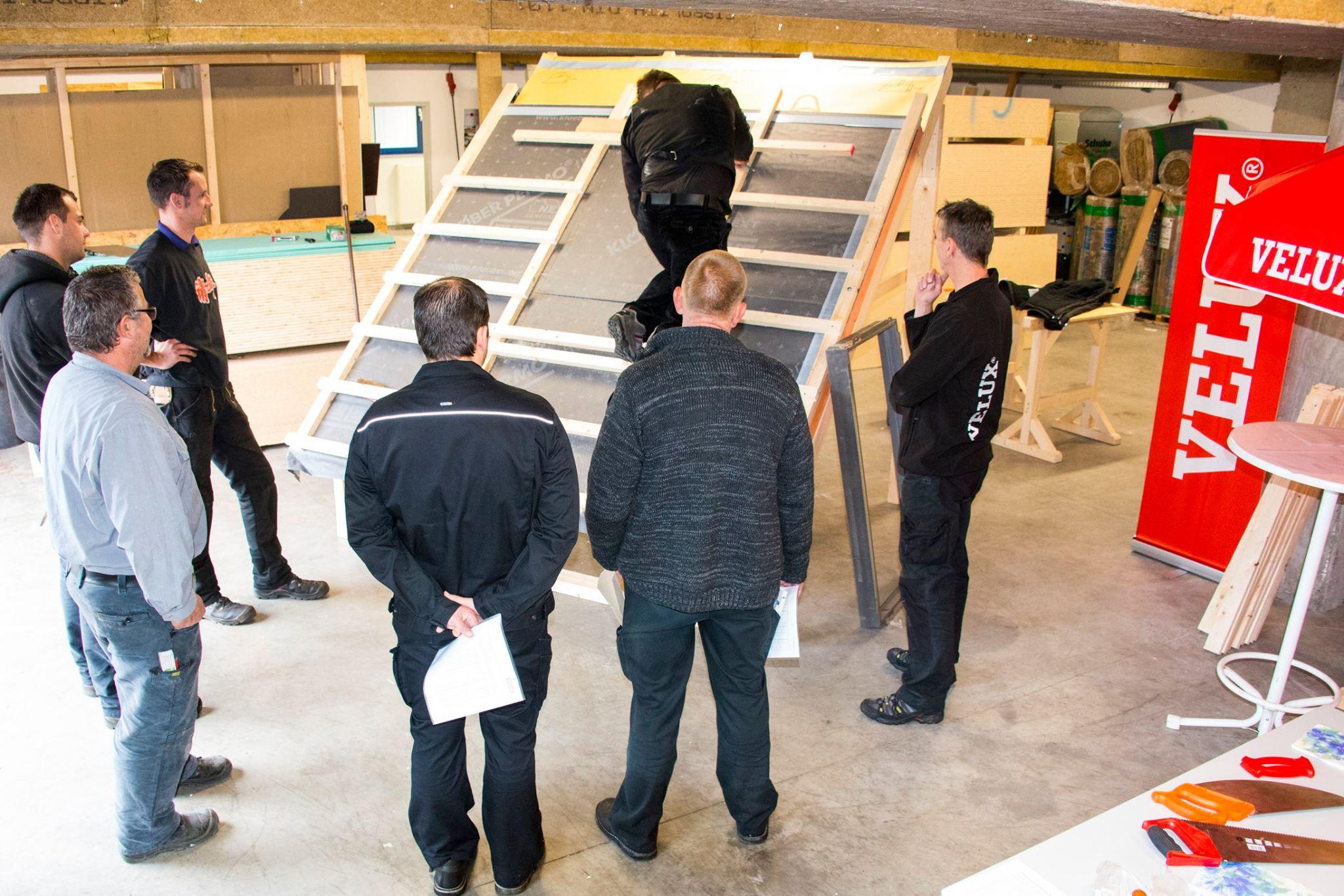 Dachfenstereinbau bei Aufsparrendämmung in Gevelsberg