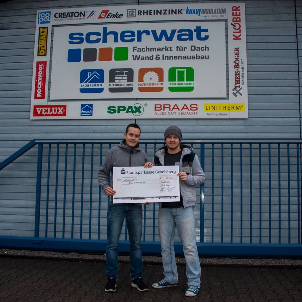 Gevelsberg: Spendenübergabe mit Radio Ennepe Ruhr