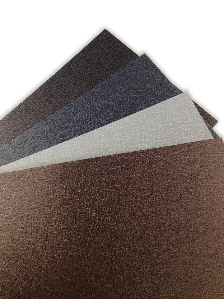 haushaut Falzbleche aus Aluminium mit PEARLS-Beschichtung: Verschiedene Farben