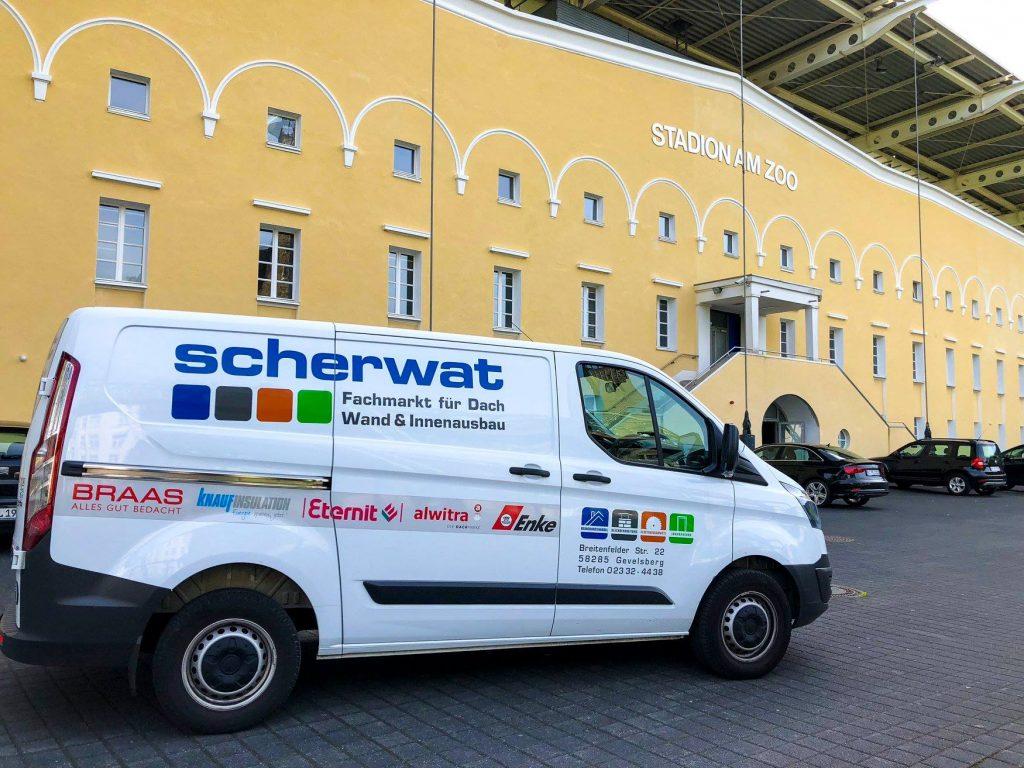 Offizieller Partner des Wuppertaler Sportvereins