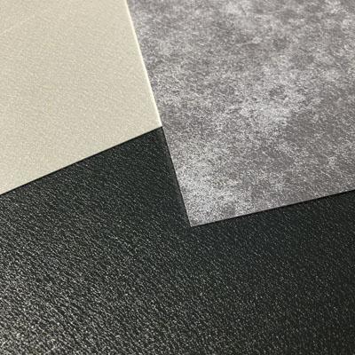 Aluminiumbleche von haushaut in anthrazit, grau und basalt