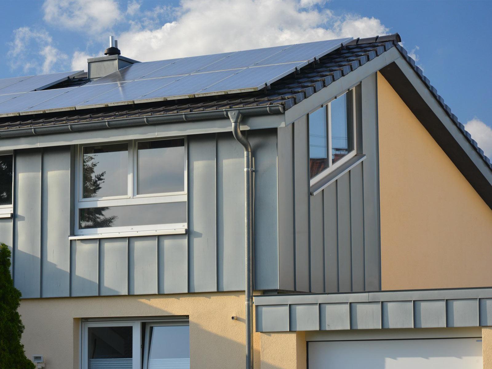 Stehfalzbleche für den Dach- und Fassadenbereich - Blescharen in Gevelsberg