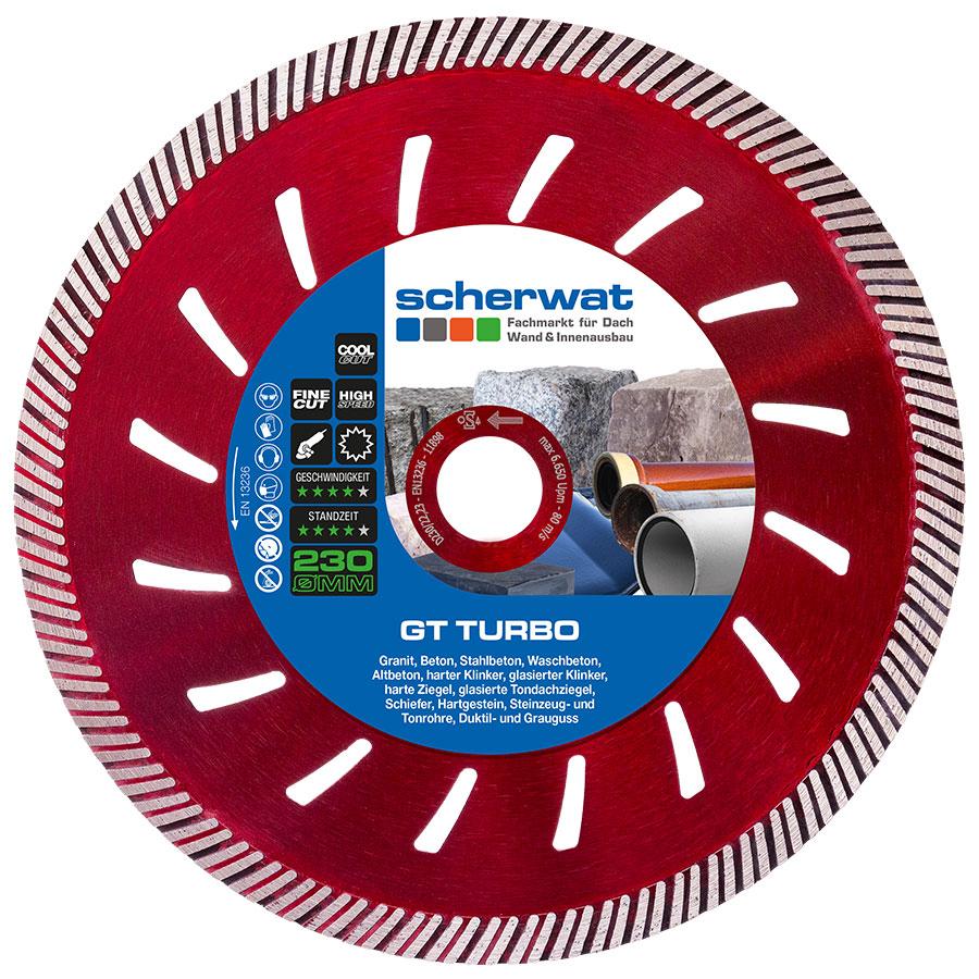 Trennscheibe GT TURBO 230 mm für Dachdecker kaufen