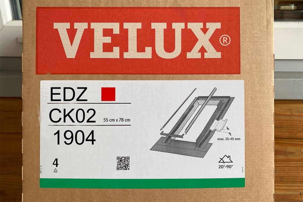 VELUX EDZ CK02 1904 Eindeckrahmen
